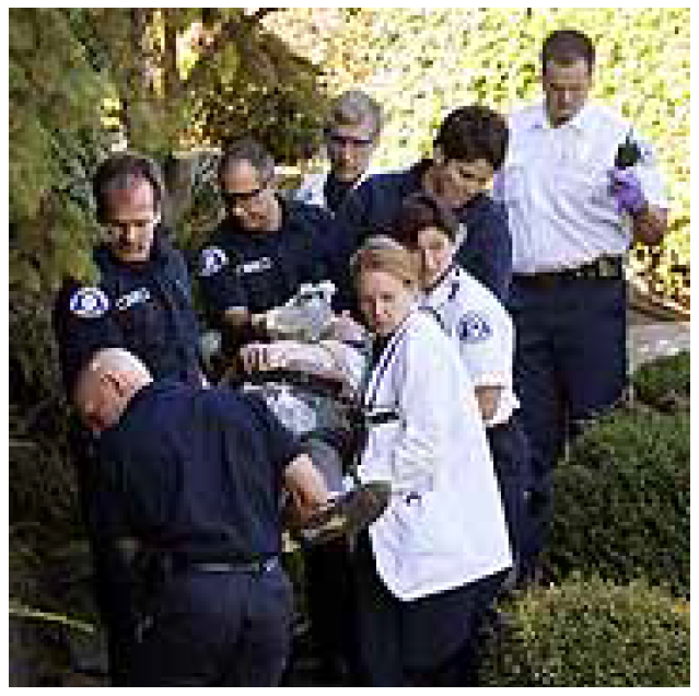 By Jack Gruber, USA TODAY   Seattle firefighters and paramedics rescue a cardiac victim. Firefighter, arriving first, used a defibrillator to restart the man's heart.